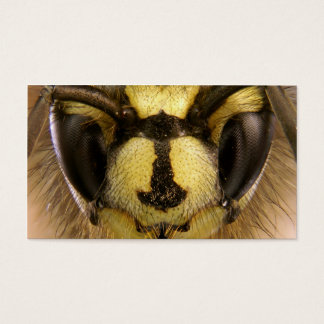 Common Wasp Vespula Vulgaris Business Card