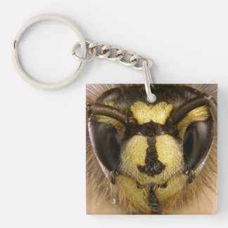 Common Wasp Vespula Vulgaris Keychain