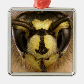 Common Wasp Vespula Vulgaris Metal Ornament