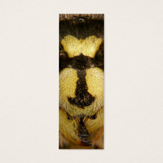 Common Wasp Vespula Vulgaris Mini Business Card