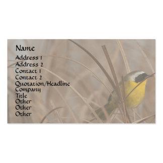 Common Yellowthroat Bird Wildlife Animal Business Card