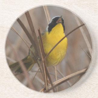 Common Yellowthroat Bird Wildlife Animal Wetlands Coaster