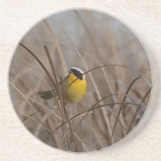 Common Yellowthroat Bird Wildlife Animal Wetlands Drink Coaster