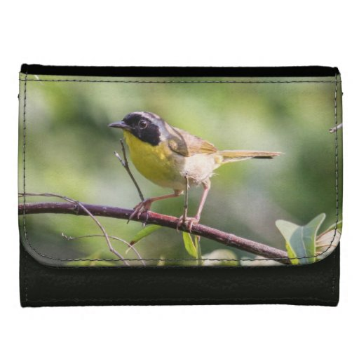 Common Yellowthroat Leather Wallets