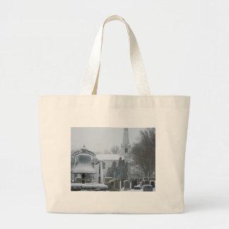 Commons, Little Compton, Rhode Island Jumbo Tote Bag