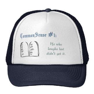 CommonSense #1 Trucker Hat