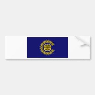 Commonwealth Flag Bumper Sticker