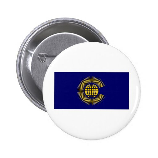 Commonwealth Flag Buttons