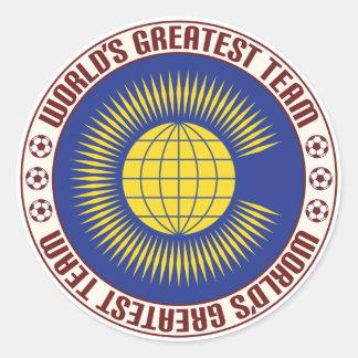 Commonwealth Greatest Team Classic Round Sticker