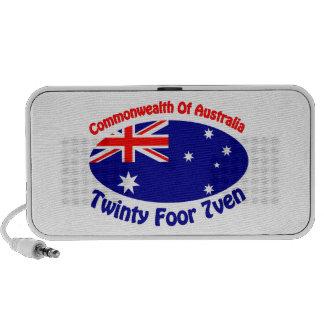 Commonwealth Of Australia iPod Speakers