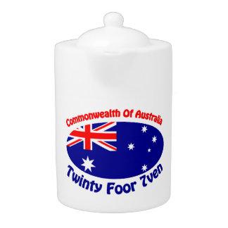 Commonwealth Of Australia Teapot