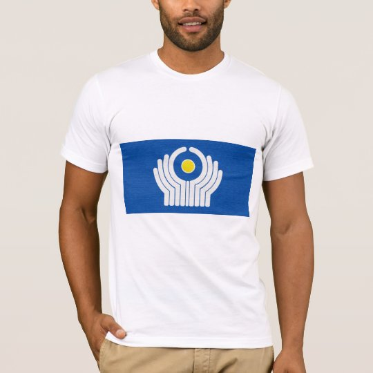 Commonwealth of Independent States (CIS) Flag T-Shirt