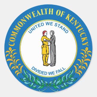 Commonwealth of Kentucky Classic Round Sticker