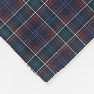 Commonwealth of Massachusetts Tartan Fleece Blanket