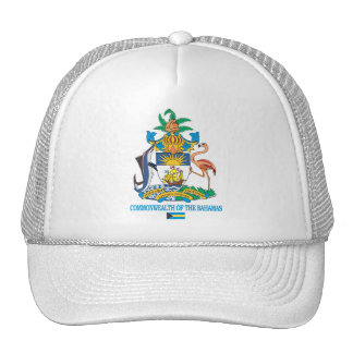 Commonwealth of the Bahamas COA Trucker Hat
