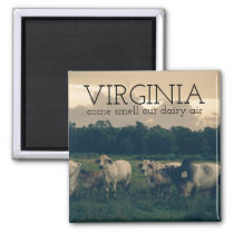 Commonwealth of Virginia | Smell Our Dairy Air Magnet
