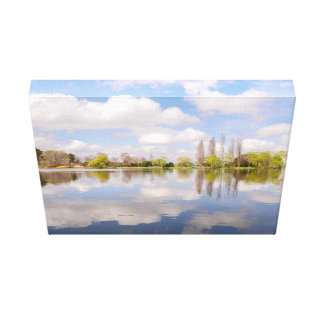 Commonwealth Park, ACT , Canberra Canvas Print