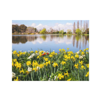 Commonwealth Park, ACT, Canberra Canvas Print