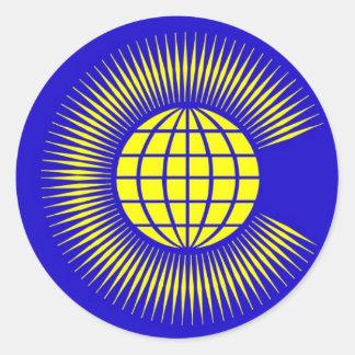 Commonwealth Classic Round Sticker