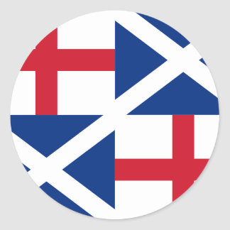 Commonwealth, United Kingdom Classic Round Sticker