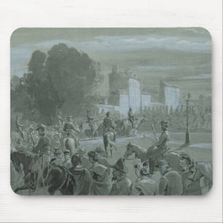 Communard Prisoners Escorted to Versailles, 1871 Mouse Pad