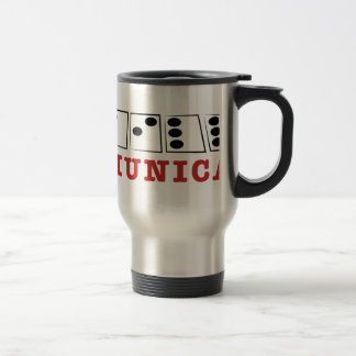 Communicate 15 Oz Stainless Steel Travel Mug