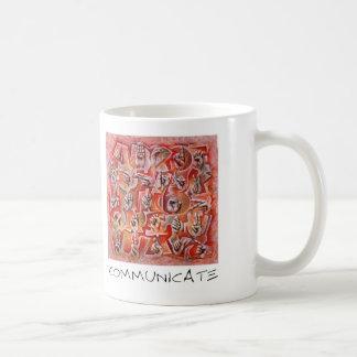 Communicate Classic White Coffee Mug