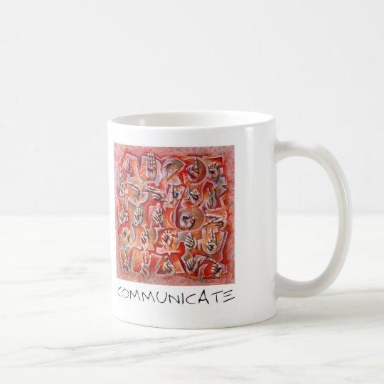 Communicate Coffee Mug