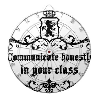 Communicate Honestly In Your Class Dartboard With Darts