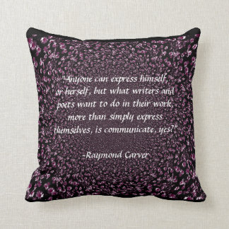 Communicate Pillow (Purple)