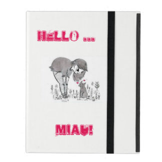 Communicate with love iPad folio case