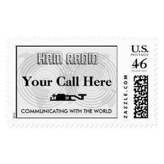 COMMUNICATING WITH THE WORLD POSTAGE STAMP