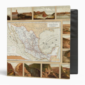 Communication and Transportation of Mexico 3 Ring Binder
