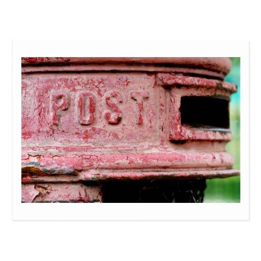 communication breakdown postcard