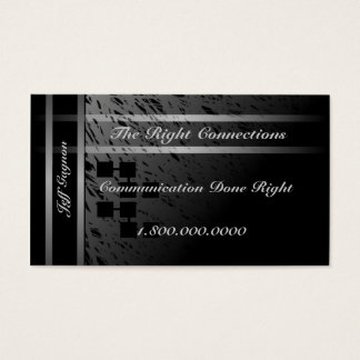 Communication Connection Business Card
