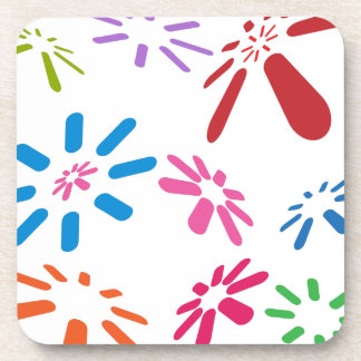 Communication Dots Beverage Coasters