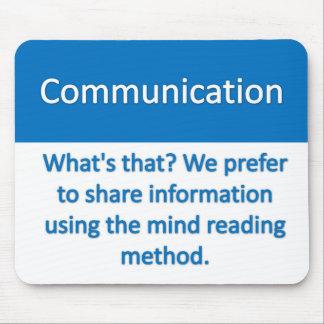 Communication Mousepad