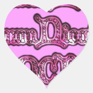 Communication Rocks Pink Hakuna Matata .png Heart Sticker
