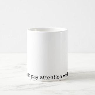 communication skills classic white coffee mug