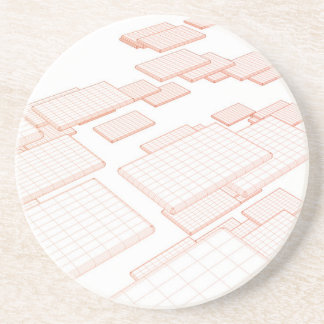 Communication Software and Technology Tools Sandstone Coaster