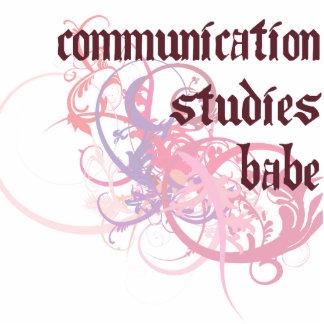 Communication Studies Babe Photo Cut Out