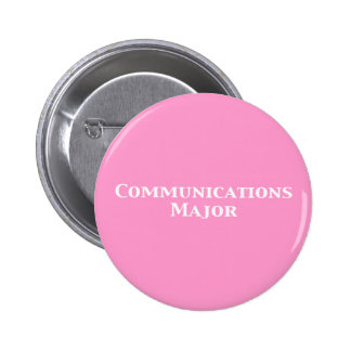 Communications Major Gifts Pinback Button