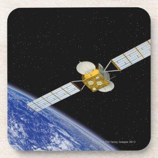 Communications Satellite Drink Coaster