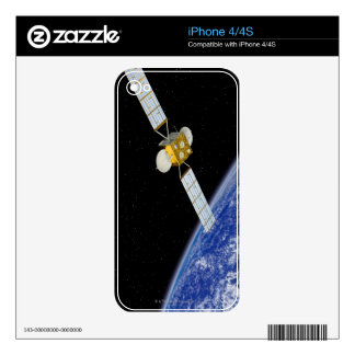 Communications Satellite iPhone 4S Decal