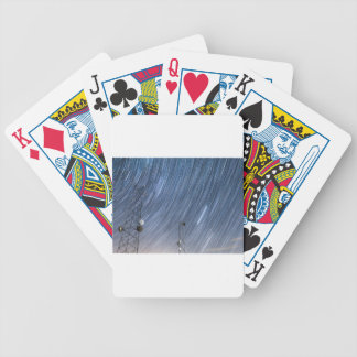 Communications Tower Power Bicycle Playing Cards