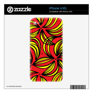 Communicative Positive Calm Skilled iPhone 4S Skins