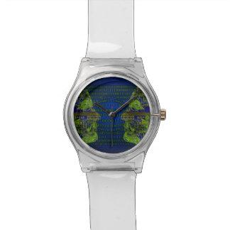 Communicaton binario relojes de pulsera