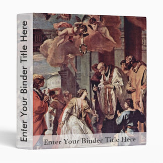 Communion And Martyrdom Of Saint Lucia By Ricci Binders