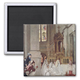 Communion at the Church of the Trinity, 1877 Magnet
