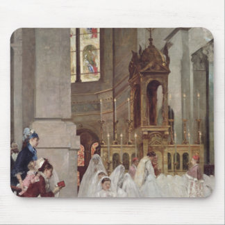 Communion at the Church of the Trinity, 1877 Mouse Pad